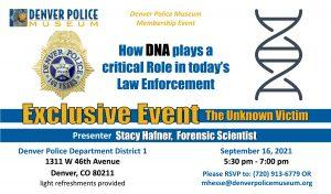 The Unknown Victim @ Denver Police Department District 1