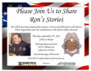 Honoring Sergeant Ron Samson @ Advantage Runyan Stevenson